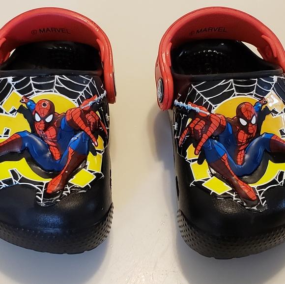 CROCS Shoes | Spiderman Toddler Boy